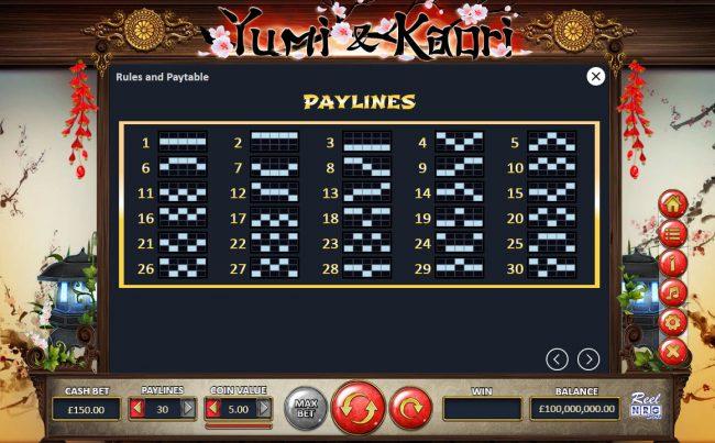 Yumi & Kaori :: Paylines 1-30