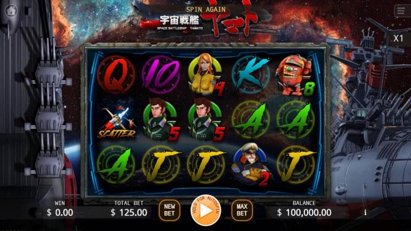 Yamato :: Main Game Board