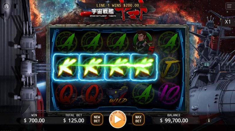 Yamato :: Multiple winning combinations leads to a big win