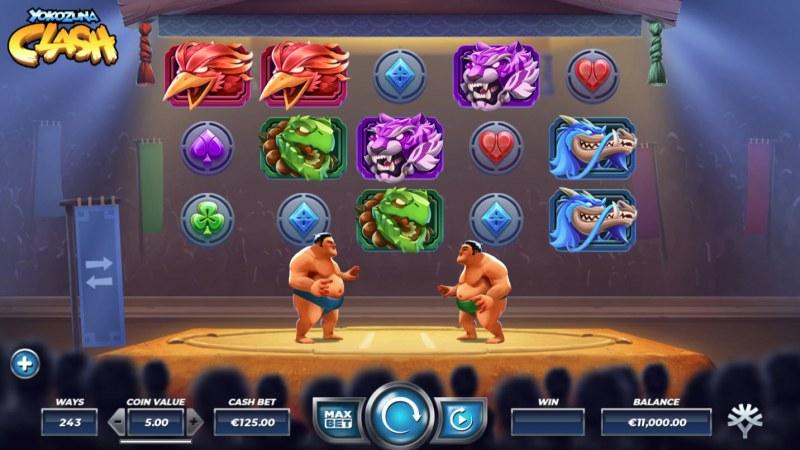 Yokozuna Clash :: Main Game Board