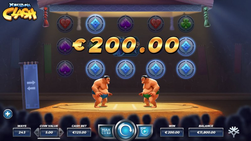 Yokozuna Clash :: Game pays in both directions