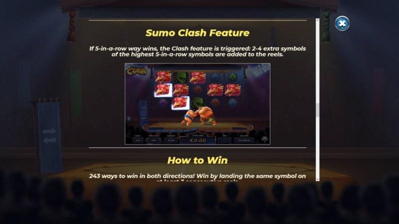 Yokozuna Clash :: Bonus Game Rules
