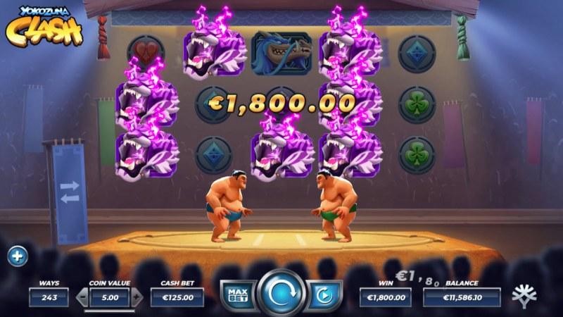 Yokozuna Clash :: Multiple winning combinations