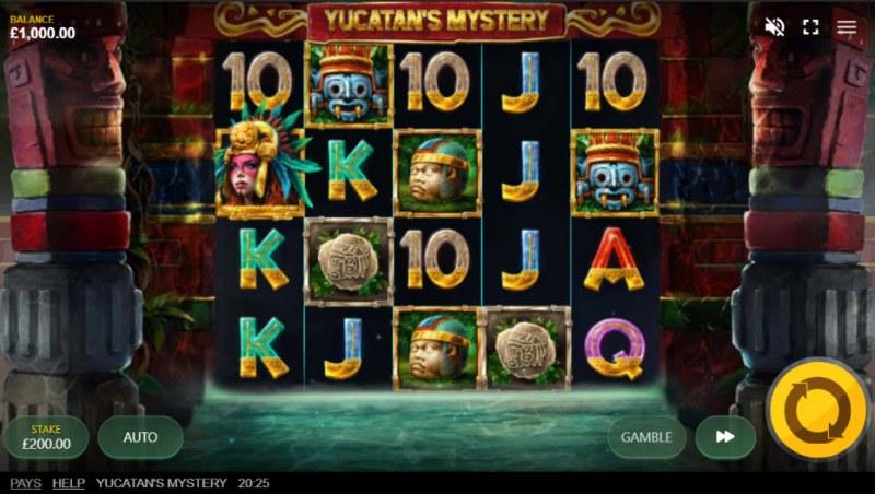 Yucatan's Mystery :: Main Game Board
