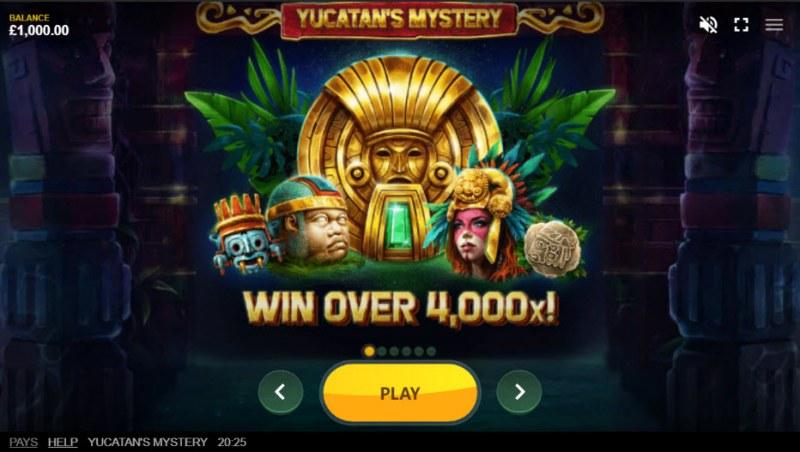 Yucatan's Mystery :: Win Over 4,000x