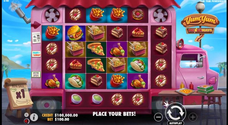 Yum Yum PowerWays :: Base Game Screen