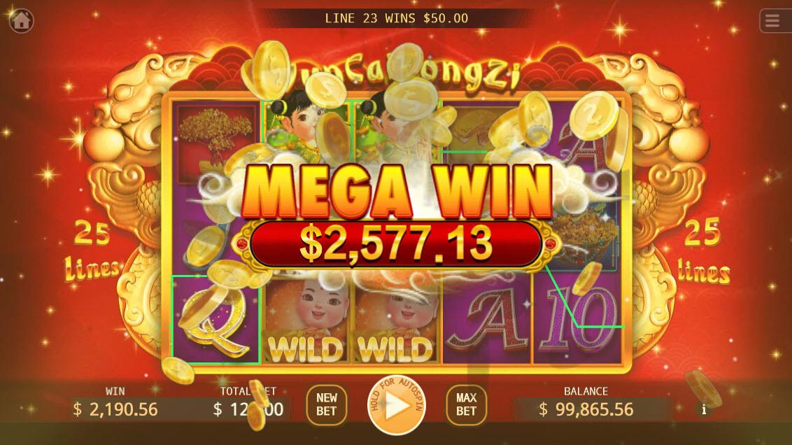 Yun Cai Tong Zi :: Mega Win