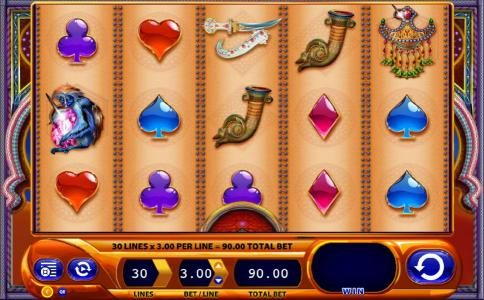 Play slots at Lapalingo: Lapalingo featuring the Video Slots Zanzibar with a maximum payout of $1,500