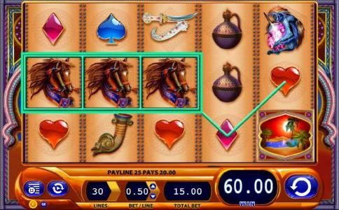 Party Casino featuring the Video Slots Zanzibar with a maximum payout of $1,500