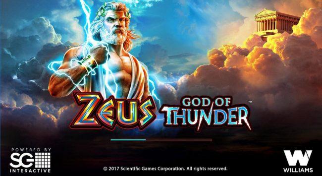 Zeus God of Thunder :: Splash screen - game loading - Greek Mythology