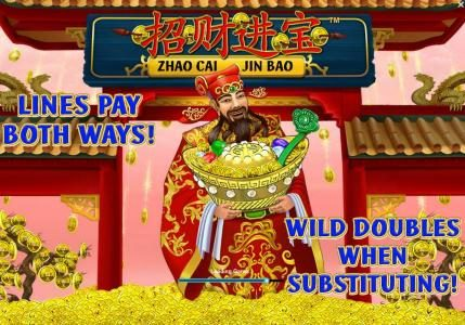 Play slots at Euro Grand: Euro Grand featuring the Video Slots Zhao Cai Jin Bao with a maximum payout of $500,000