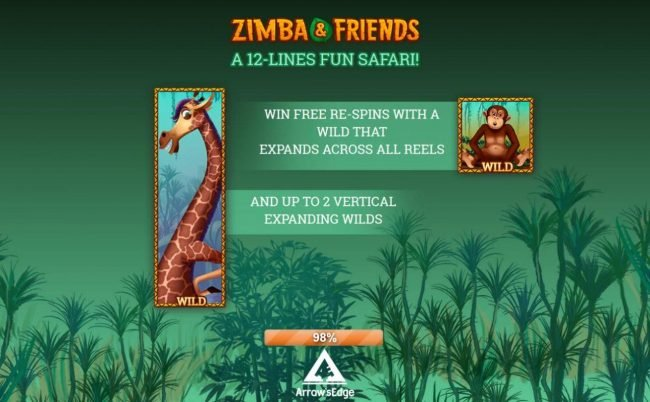 Play slots at Gossip Slots: Gossip Slots featuring the Video Slots Zimba & Friends with a maximum payout of Jackpot
