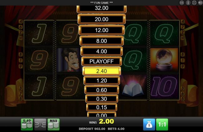 Play slots at Scatters: Scatters featuring the Video Slots Zipper with a maximum payout of $1,600