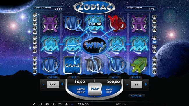 Zodiac :: A winning Five of a Kind