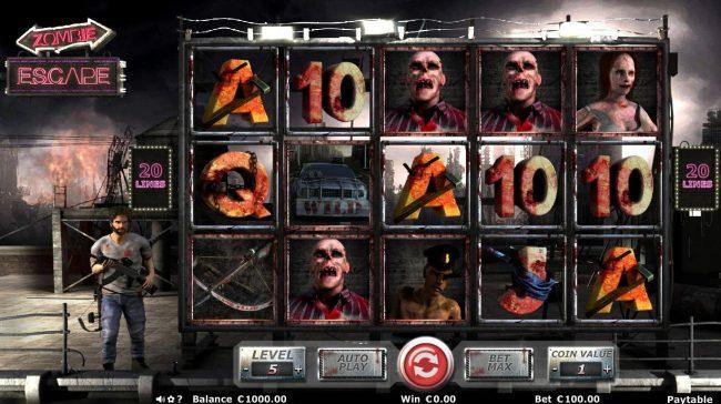 Zombie Escape :: Main Game Board