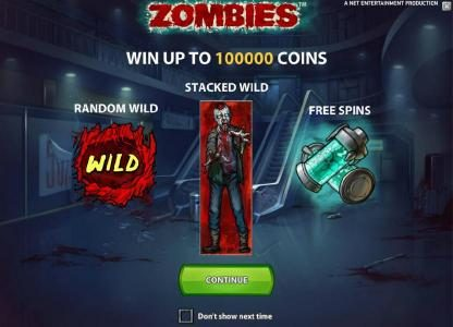win up to 100000 coins - featuring random wilds, stacked wilds and free spins