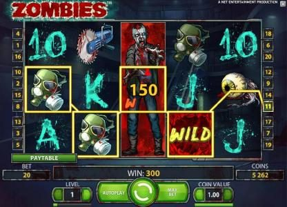 stacked wild triggers a 300 coin big win jackpot