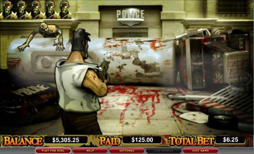 Casino Superlines featuring the video-Slots Zone of the Zombies with a maximum payout of 6,00x