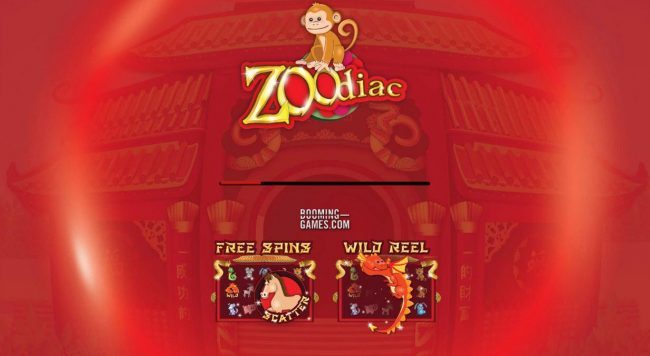 Boo Casino featuring the Video Slots Zoodiac with a maximum payout of $60,000