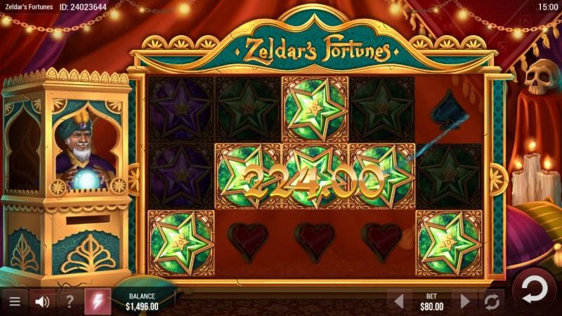 Zeldar's Fortunes :: A five of a kind win