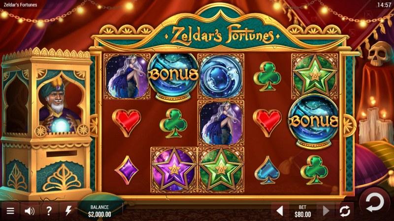 Zeldar's Fortunes :: Main Game Board