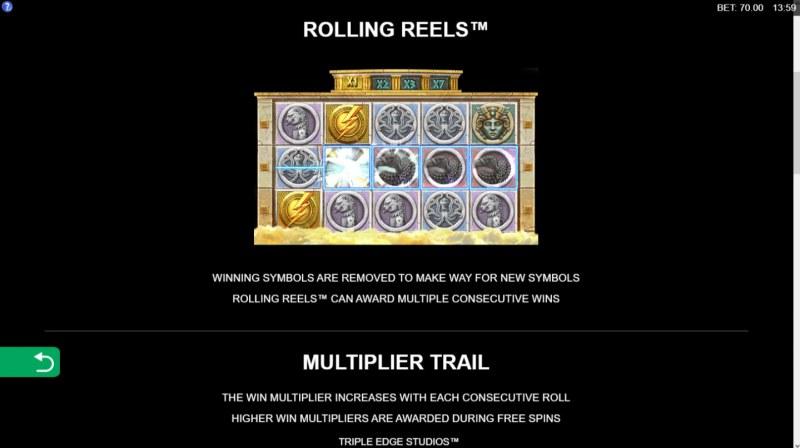 Zeus Ancient Fortunes :: Rolling Reels