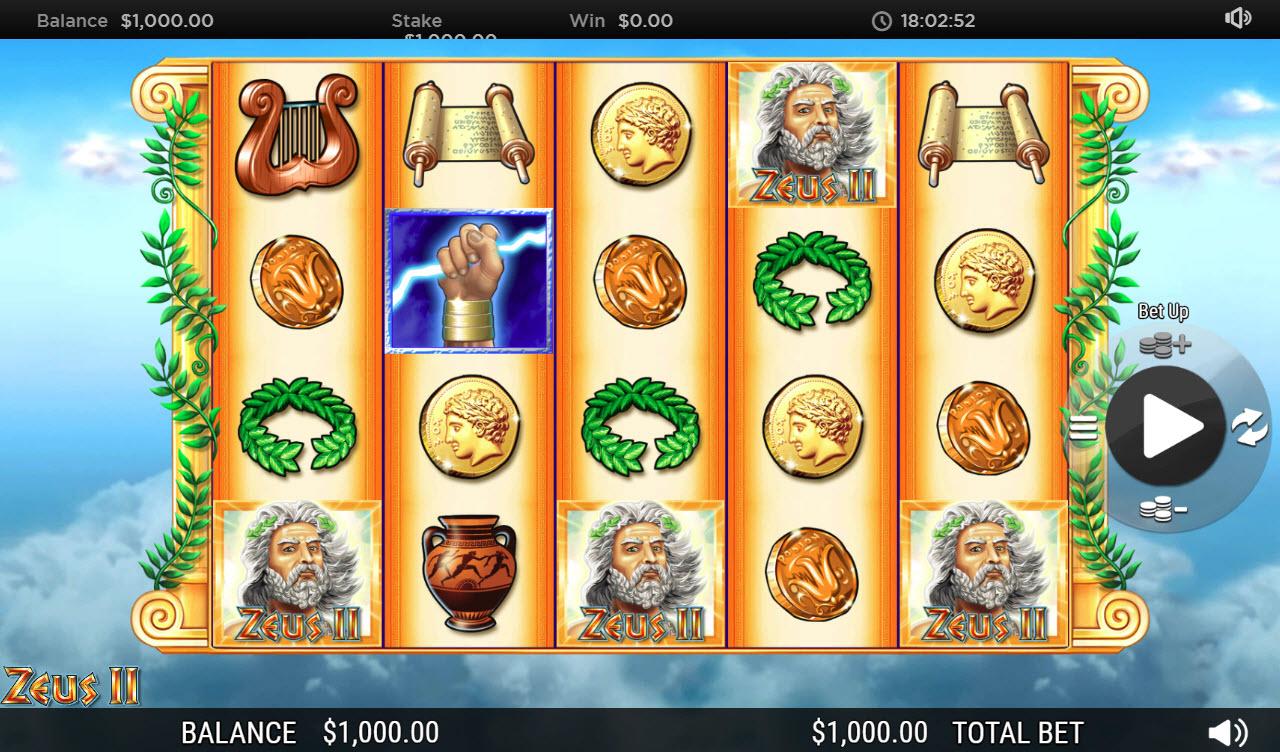 Zeus II :: Main Game Board