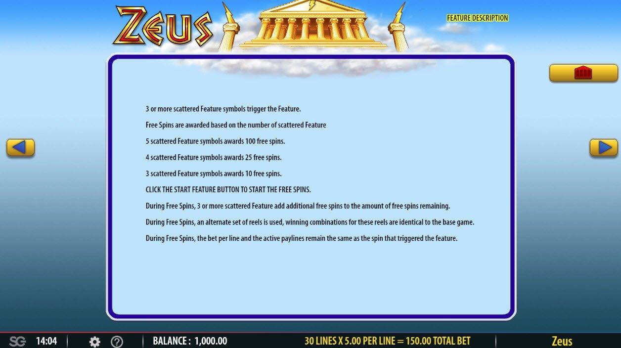 Play slots at Casino Red Kings: Casino Red Kings featuring the Video Slots Zeus with a maximum payout of $250,000