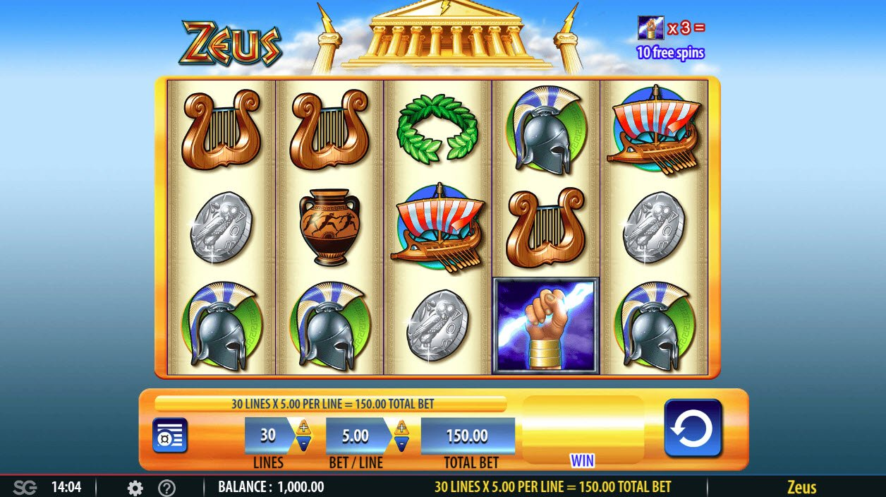 Zeus :: Main Game Board