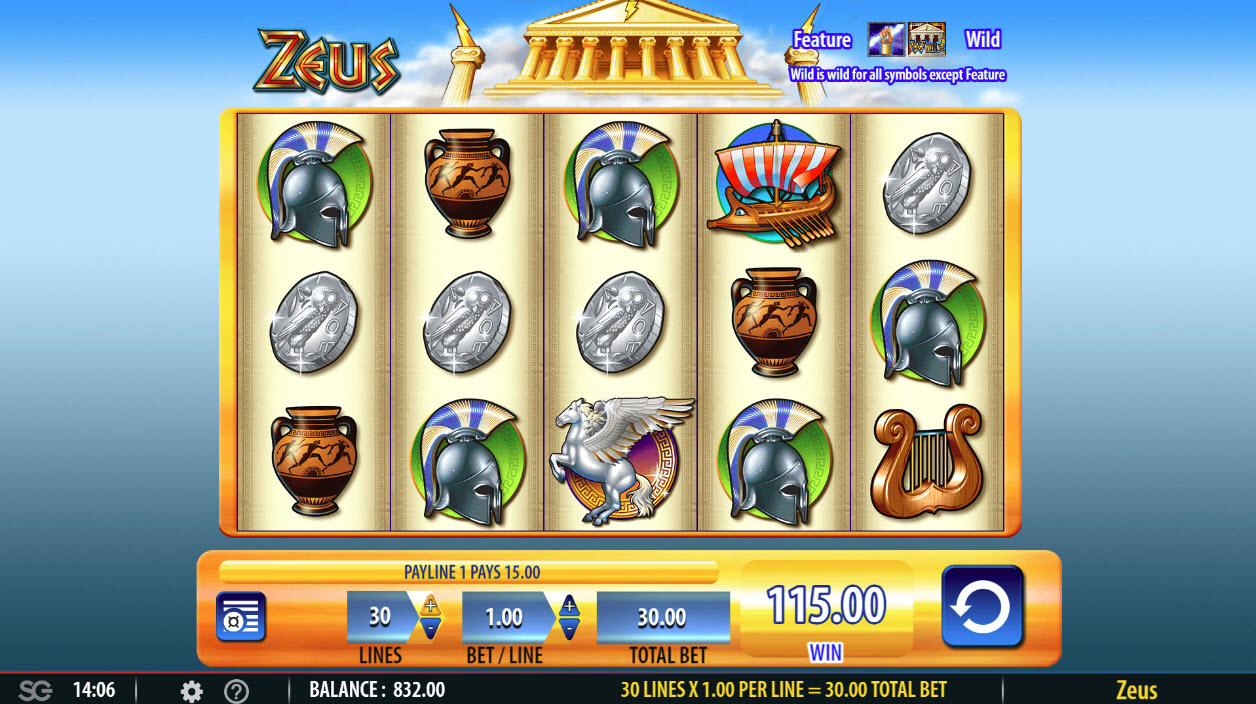 Zeus :: Four of a kind