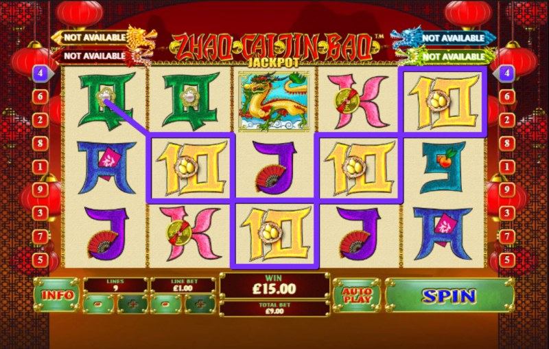 Zhao Cai Jin Bao Jackpot :: Game Pays In Both Directions