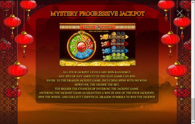 Zhao Cai Jin Bao Jackpot :: Jackpot Rules