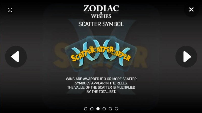 Zodiac Wishes :: Scatter Symbol Rules
