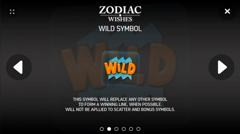 Zodiac Wishes :: Wild Symbols Rules