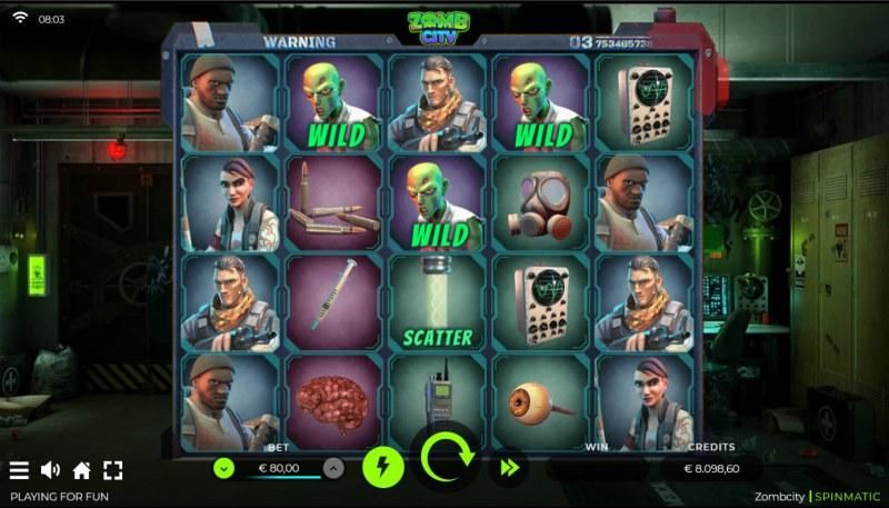 Zomb City :: Base Game Screen