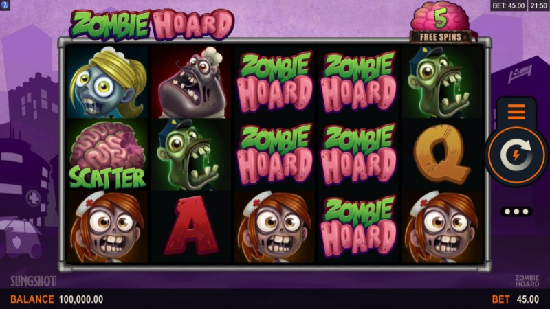 Zombie Hoard :: Main Game Board