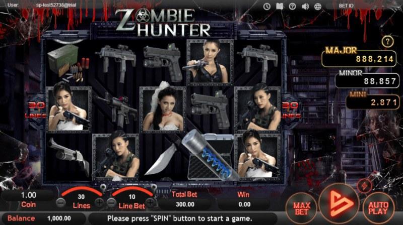 Zombie Hunter :: Main Game Board