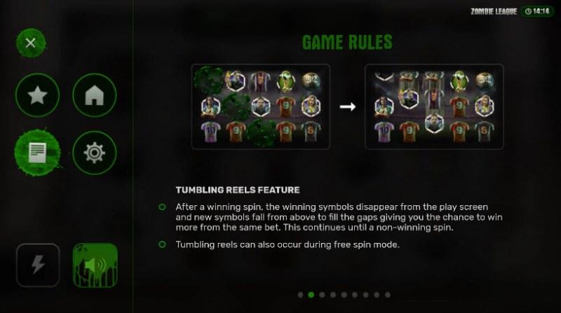 Zombie League :: Tumbling Reels