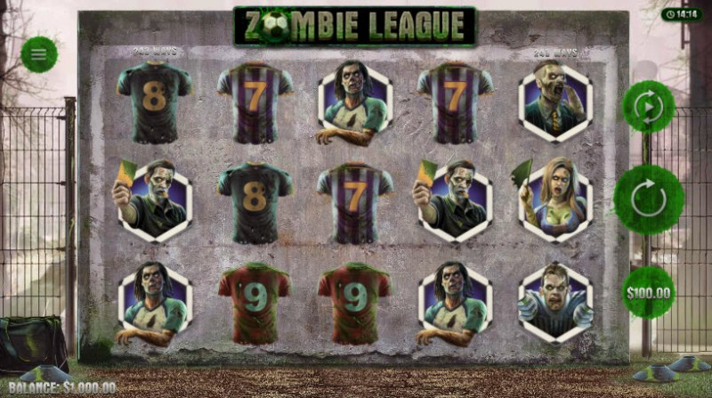 Zombie League :: Main Game Board