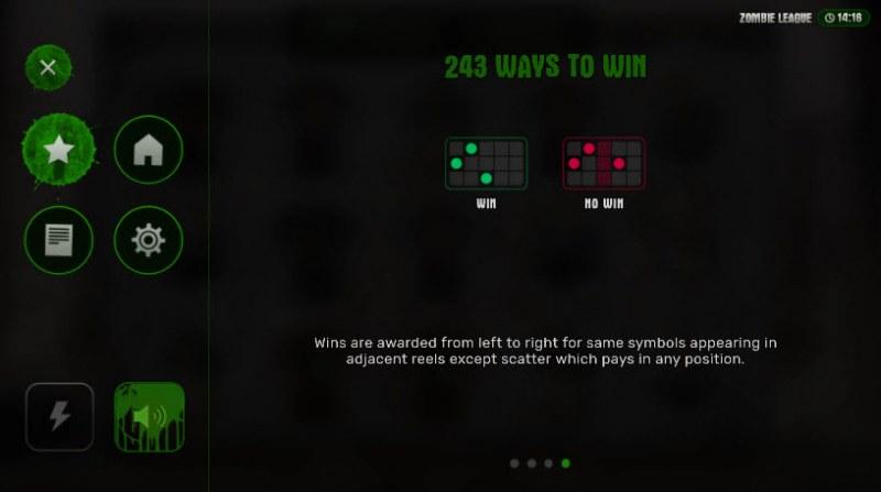 Zombie League :: 243 Ways to Win