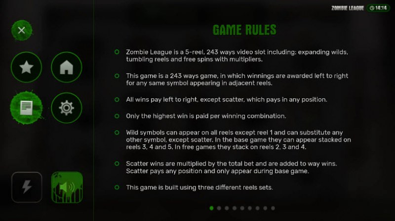 Zombie League :: General Game Rules