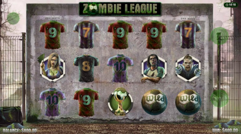 Zombie League :: A five of a kind win