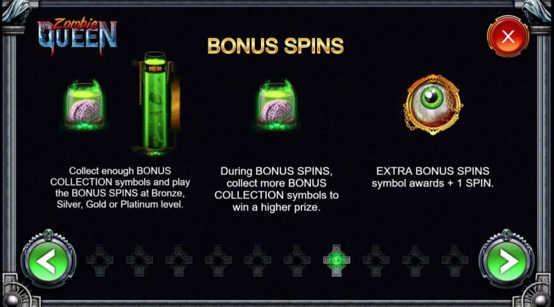 Zombie Queen :: Bonus Game Rules