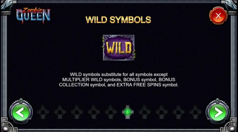 Zombie Queen :: Wild Symbols Rules