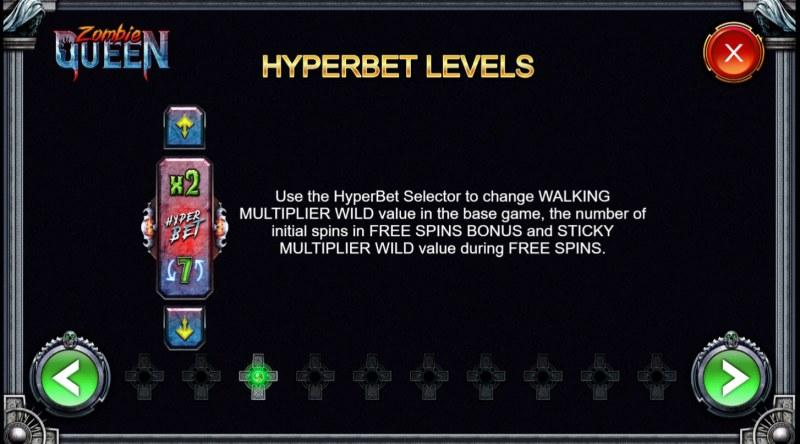 Zombie Queen :: Hyperbet Levels