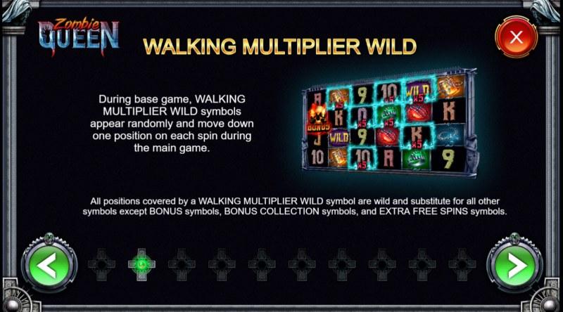 Zombie Queen :: Walking Multiplier Wild