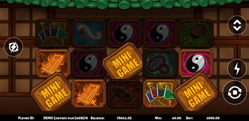 Zombie :: Scatter symbol triggers the bonus feature