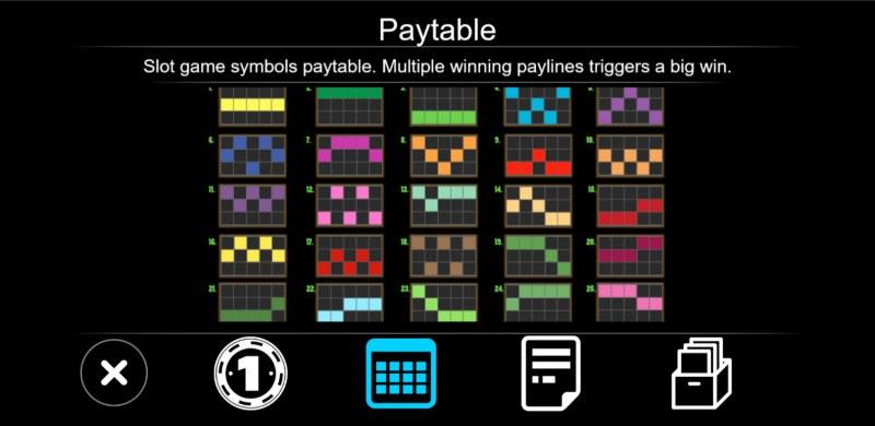 Zombie :: Paylines 1-25