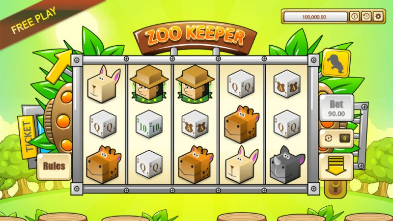 Zoo Keeper :: Main Game Board