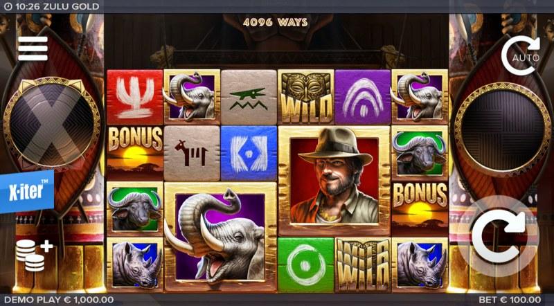 Zulu Gold :: Base Game Screen